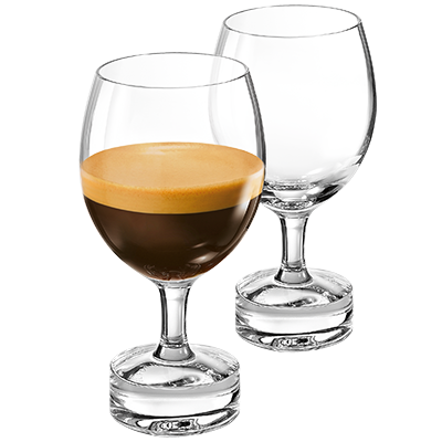REVEAL ESPRESSO MILD GLASSES