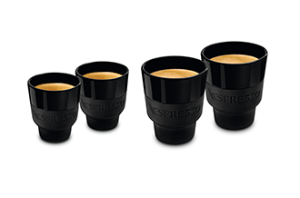 TOUCH ESPRESSO AND LUNGO CUPS